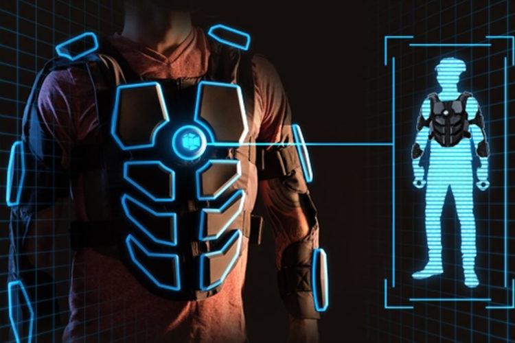 Hardlight VR Suit campagne Kickstarter