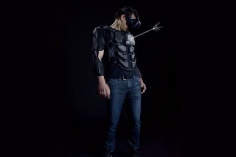 Hardlight VR Suit veste haptique réalité virtuelle