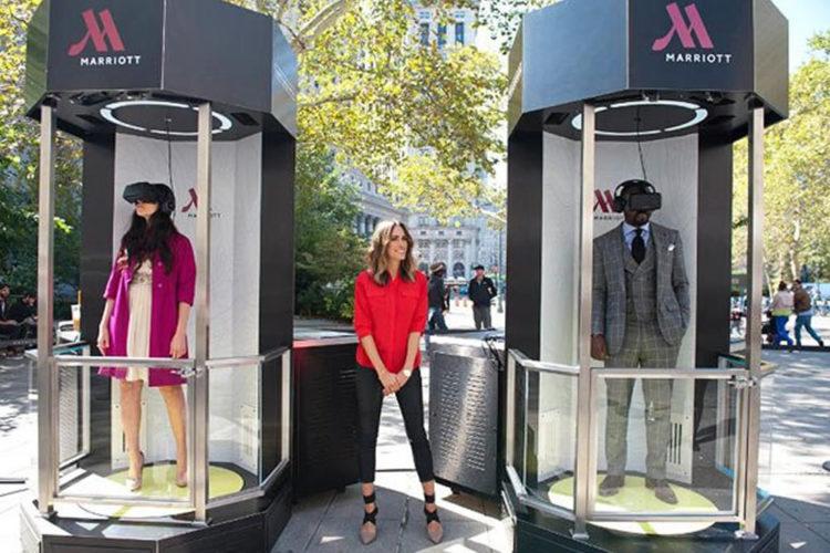 Marketing avec réalité virtuelle