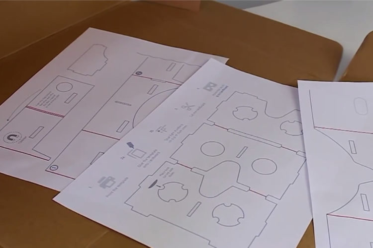Plans Carboard Google télécharger imprimer