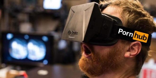 PornHub chiffres consommation pornographie réalité virtuelle VR