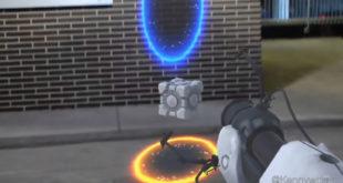 Portal jeu en réalité augmentée RA