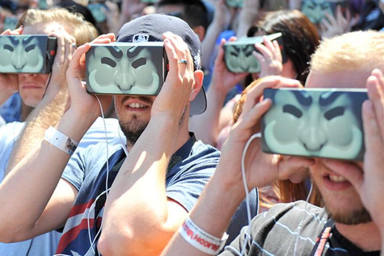 Publicité avec réalité virtuelle