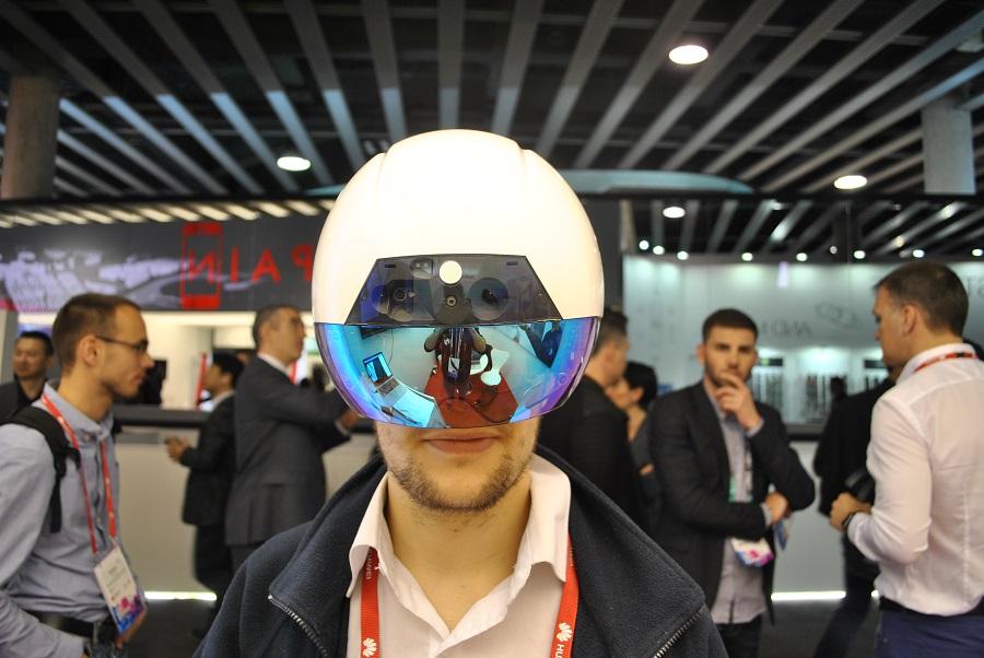 réalité augmentée de face daqri