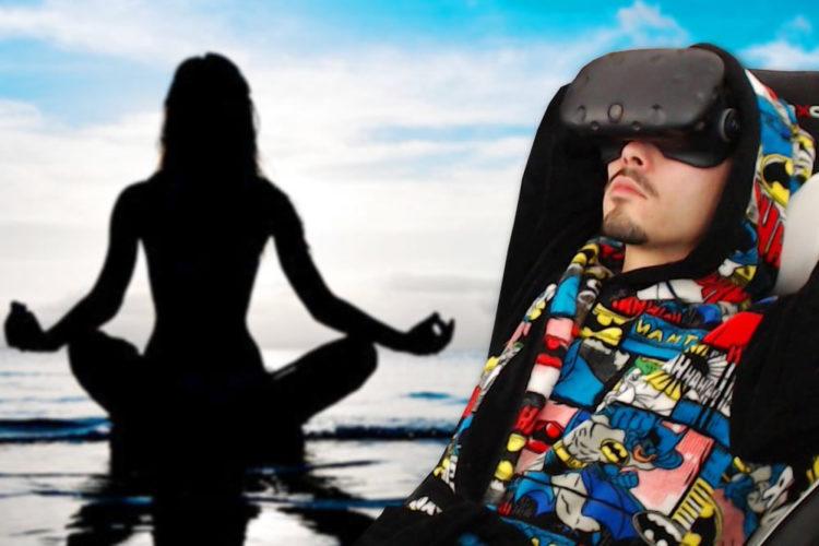 Relaxer déstresser zen réalité virtuelle VR