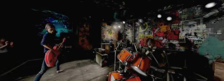 Rock Band VR Oculus Rift guitare jeu Oculus Touch immersion