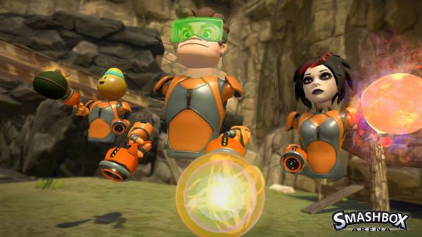 Smash Arena jeu réalité virtuelle