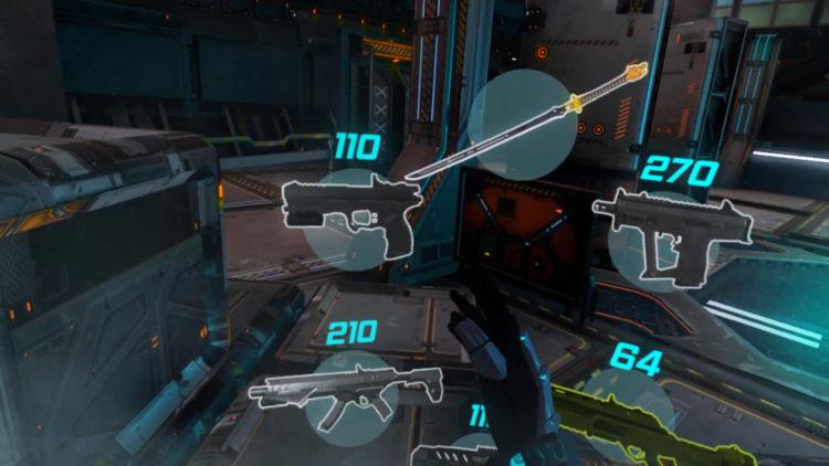 Test Sairento Weapon wheel gameplay