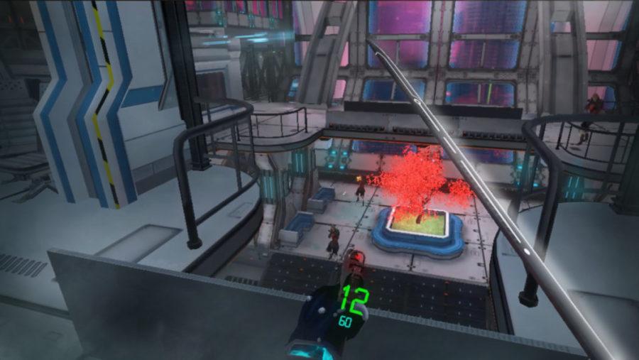 Sairento combat réalité virtuelle
