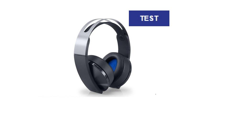 test casque audio playstation platinum