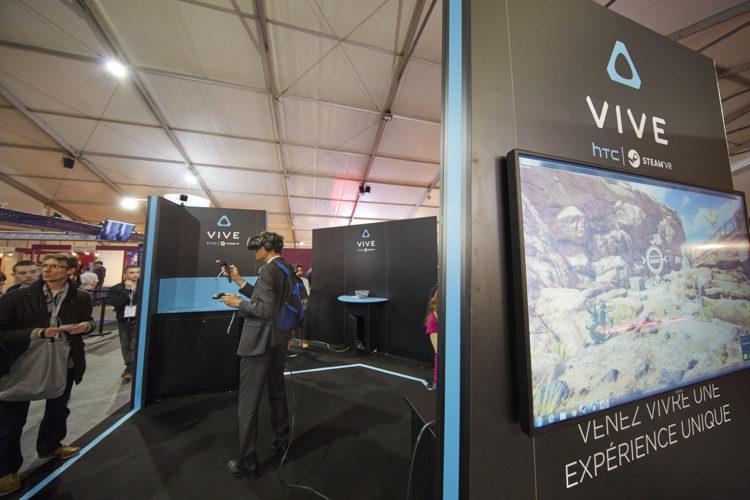 Laval Virtual HTC Vive casque VR expérience