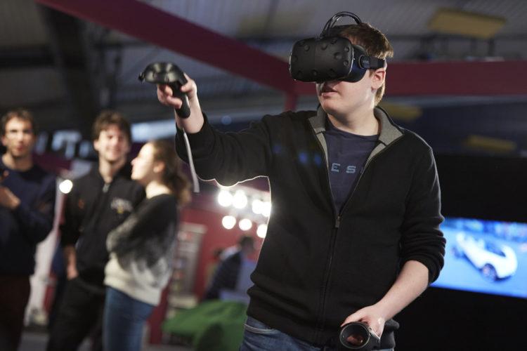 Laval Virtual casque VR HTC