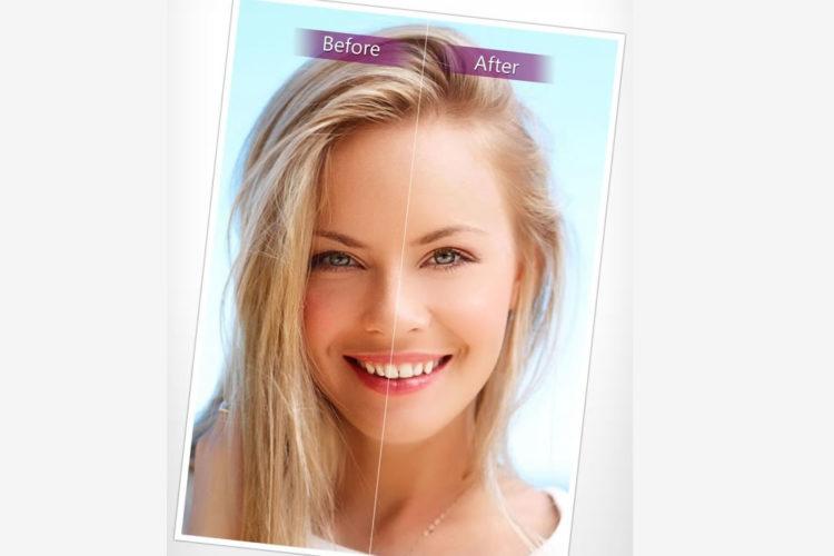 YouCam Perfect application appli réalité augmentée embellir selfies corriger défauts