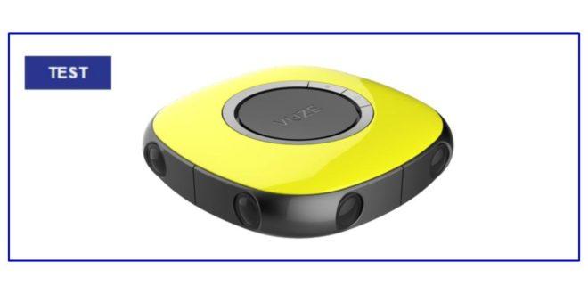 Test Vuze Camera Image à la Une