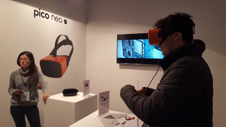 Pico Neo Laval Virtual casque autonome PC androida