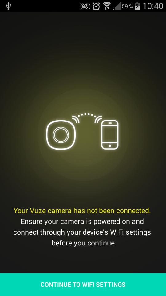 Vuze Camera Screenshot application hom