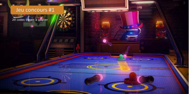 Concours sports bar VR jeux VR gratuit oculus clé steam code
