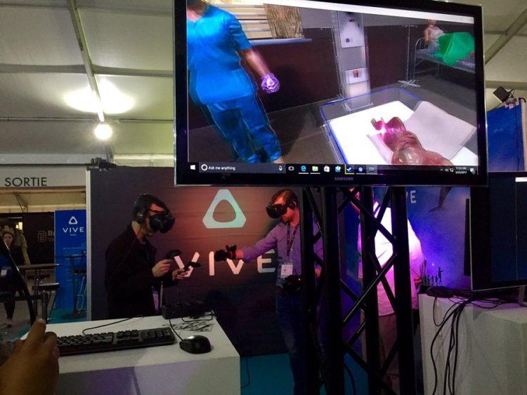 Vive Tracker test au Laval Virtual