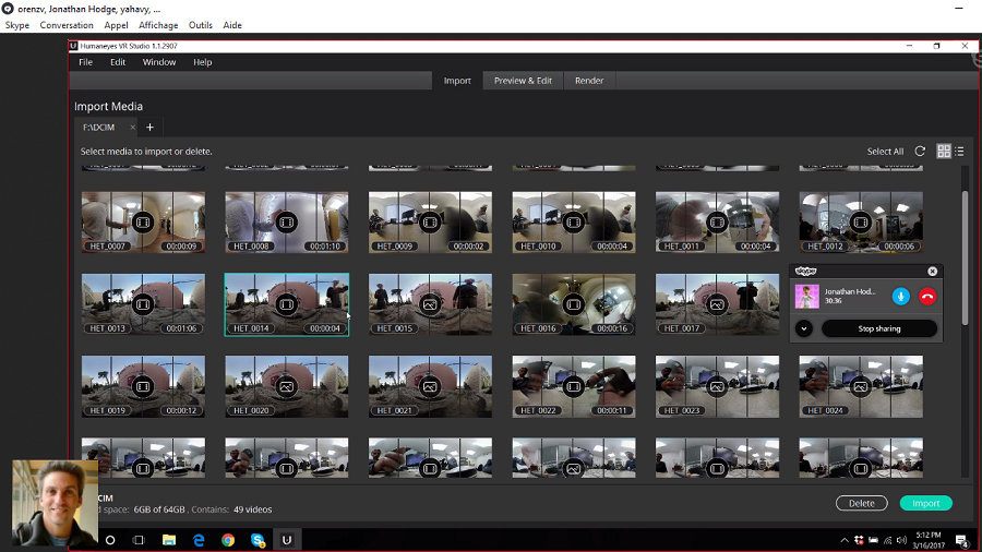 Vuze Camera Application logiciel