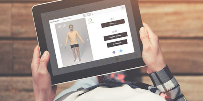 Cabine d'essayage virtuelle