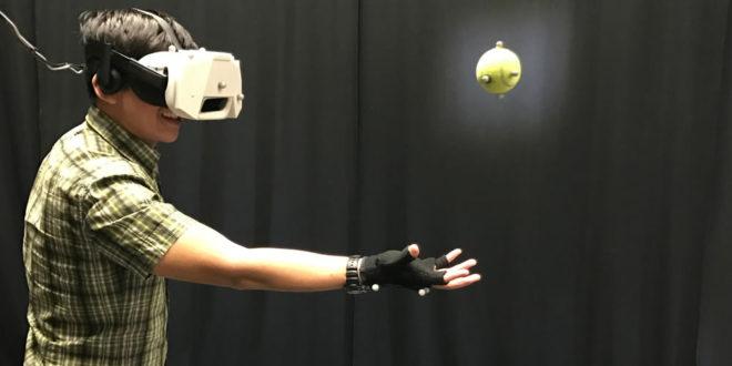 Laboratoire Disney Research expérience VR réalité virtuelle
