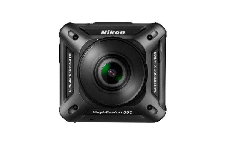 Test Vuze Camera face à la concurrence à 360 Nikon KeyMission