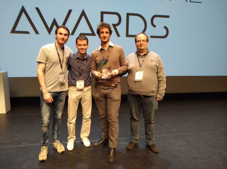 Laval Virtual Award Mimesys hologramme