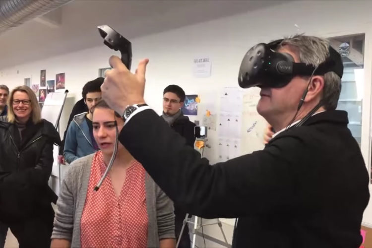 Mélenchon réalité virtuelle réalité augmentée jeux vidéos