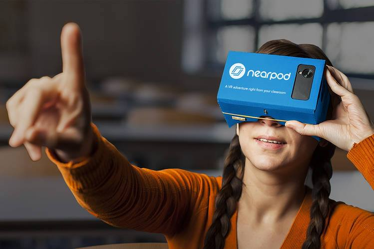 Nearpod startup edtech fonds casque contenu cours