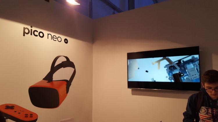 Pico Neo test prise en main laval Virtual casque autonome sans fil