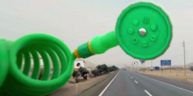 Piratage en réalité virtuelle route Pérou