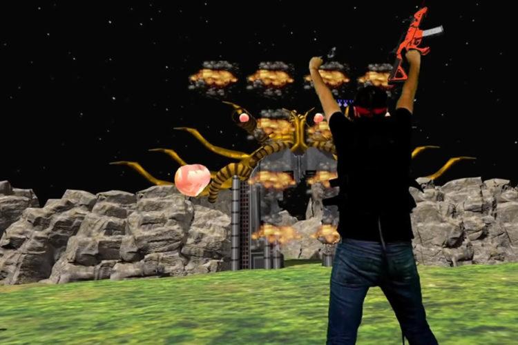 Probotector réalité virtuelle Contra VR