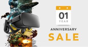 Promotions Oculus Store anniversaire Rift jeux pack