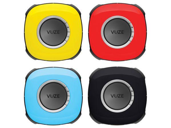 Vuze Camera design et ergonomie toutes les couleurs