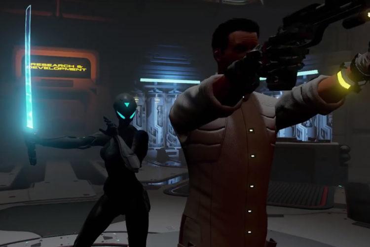 Raw Data eilleur jeu FPS HTC Vive Oculus Rift