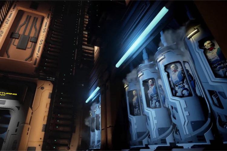 Raw Data jeu FPS Oculus Rift HTC Vive cross plateform