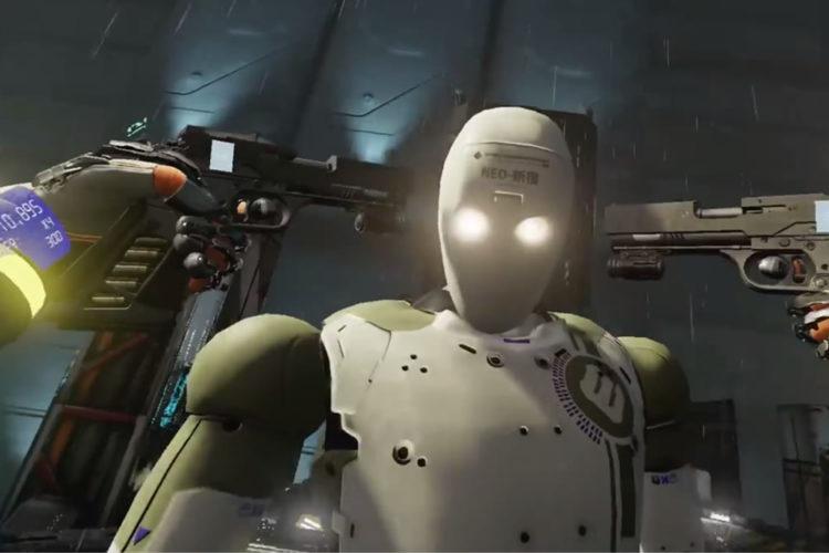 Raw Data jeu multi-joueurs meilleur FPS VR réalité virtuelle