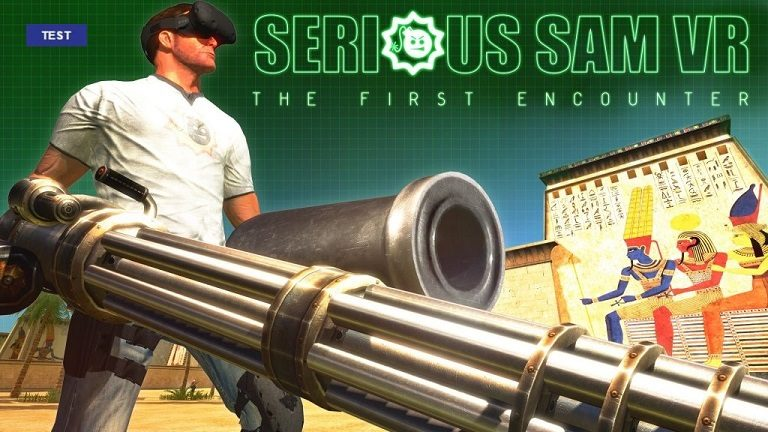 Test Serious Sam VR