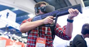 Striker VR Rifle accessoire jeux tir en réalité virtuelle