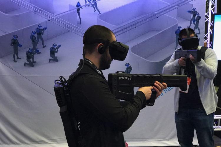 Striker VR Rifle accessoire de la réalité virtuelle VR simulation tir arme