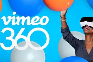 Vimeo vidéos à 360 degrés