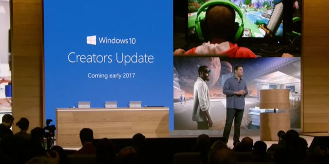 Windows 10 Creators Update sortie le 11 avril 2017