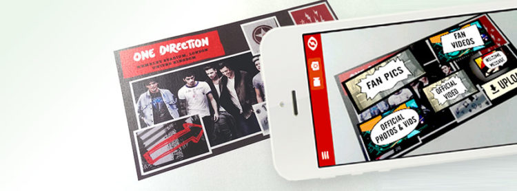 Zappar smartphone téléphone smartphone one direction DVD zapcode smartphones