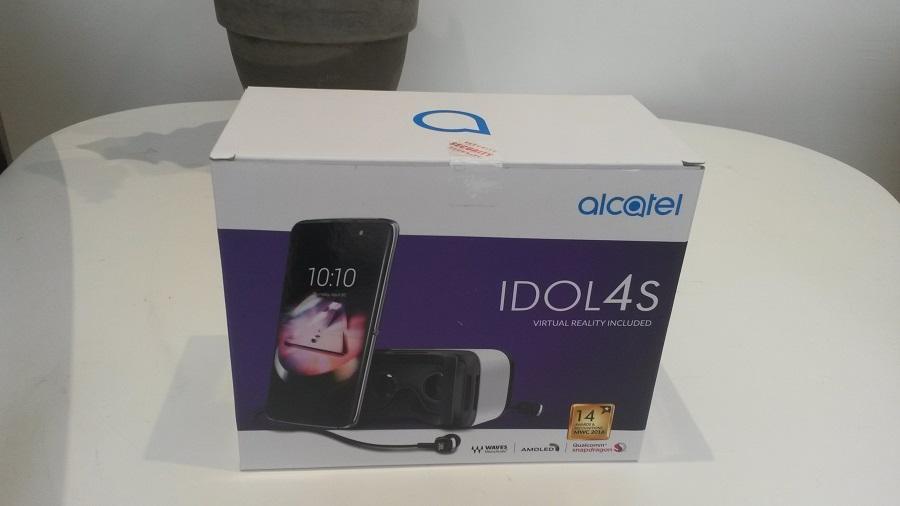 Test Alcatel IDOL 4S Unboxing
