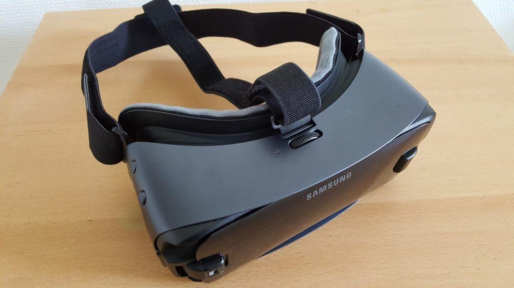 test Gear VR 2017 unboxing Samsung dos back