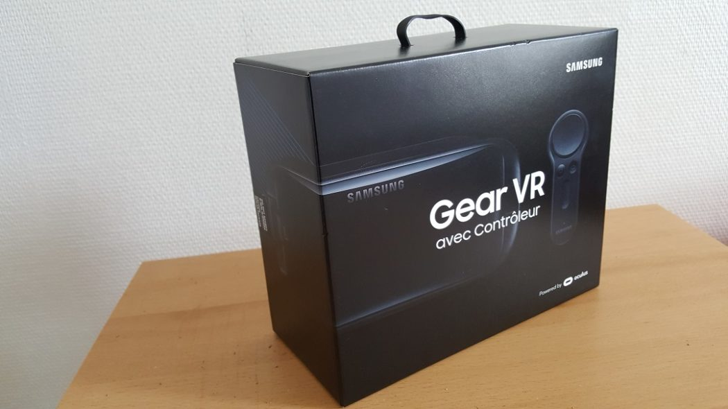 test Gear VR 2017 unboxing Samsung