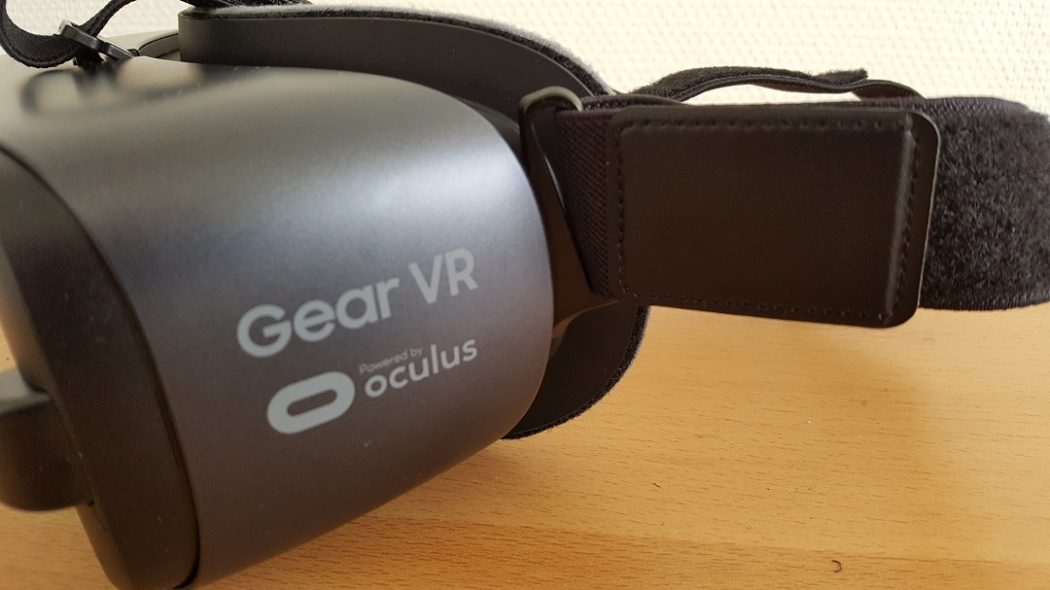 test Gear VR 2017 unboxing Samsung dos backlogo