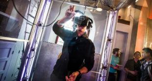Cabine expérience réalité virtuelle