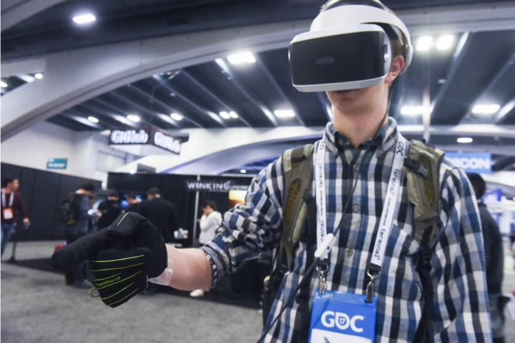CaptoGlove gants pour la réalité virtuelle VR