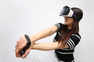 Contrôleur casque de réalité virtuelle Samsung Gear VR